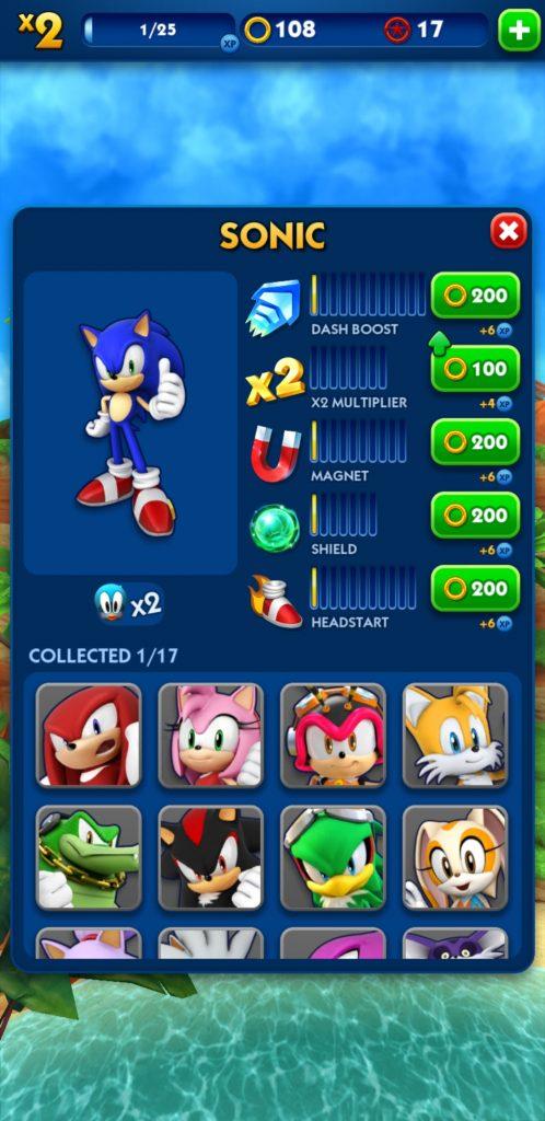 دانلود رایگان بازی موبایل Sonic Dash