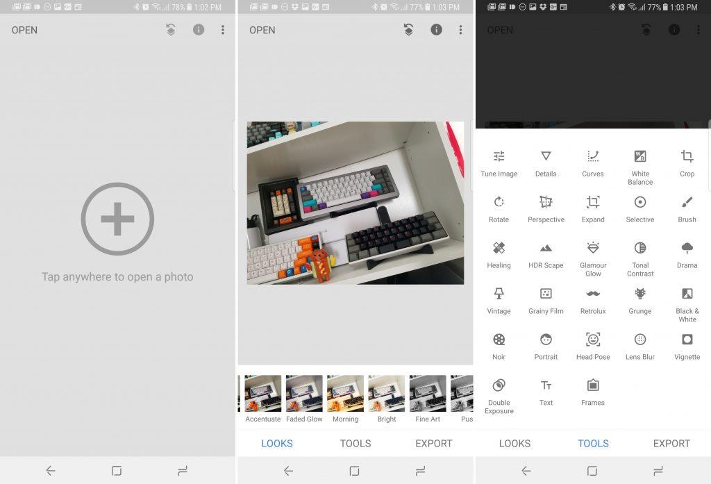 اپلیکیشن ویرایش عکس Snapseed همراه با آموزش ویرایش عکس در موبایل