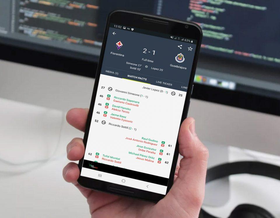 دانلود FotMob اپلیکیشن نتایج زنده فوتبال و اخبار ورزشی